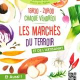 Le marché du terroir, c'est jusqu'au 31 août, Place Leclerc