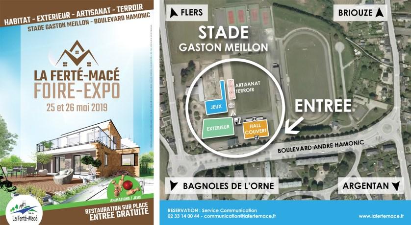 Flyer et Plan Foire Expo 2019