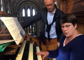 Concert Orgue et Trompes à l'église, le 29 juin