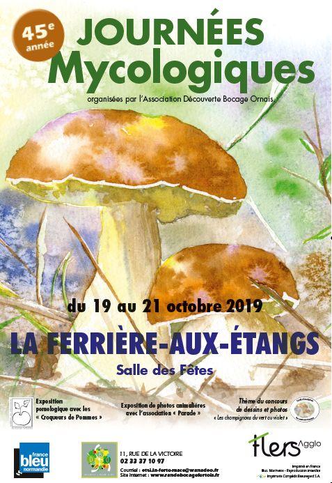 Journées Mycologiques 2019