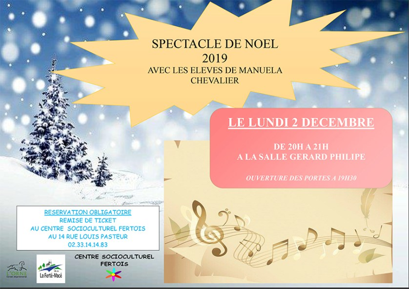 Spectacle Noël 2019
