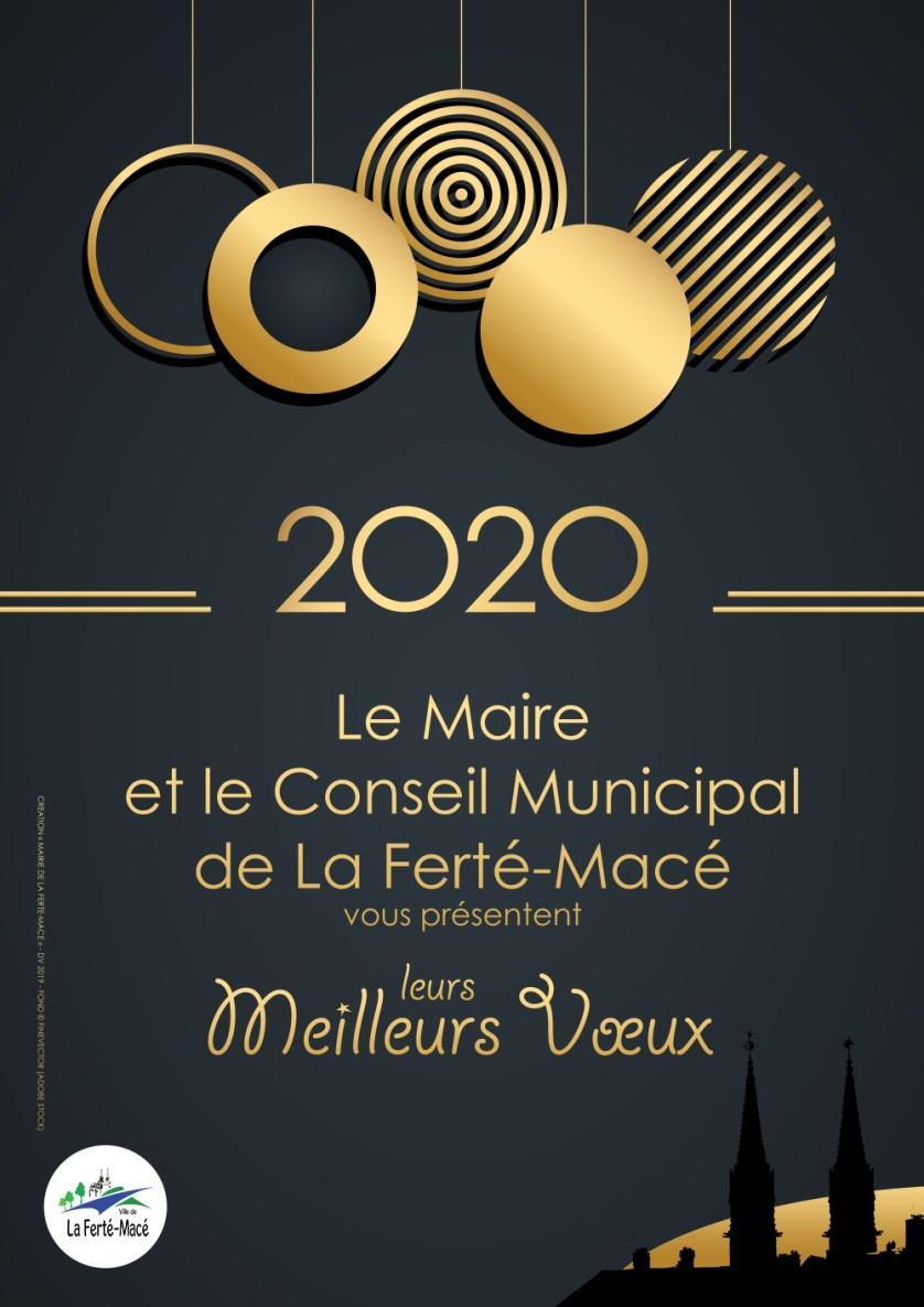 Voeux 2020 à La Ferté-Macé