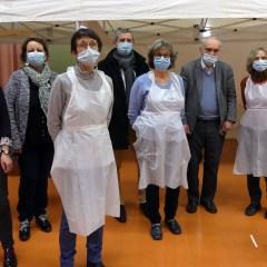 COVID-19 – Premières vaccinations à La Ferté-Macé