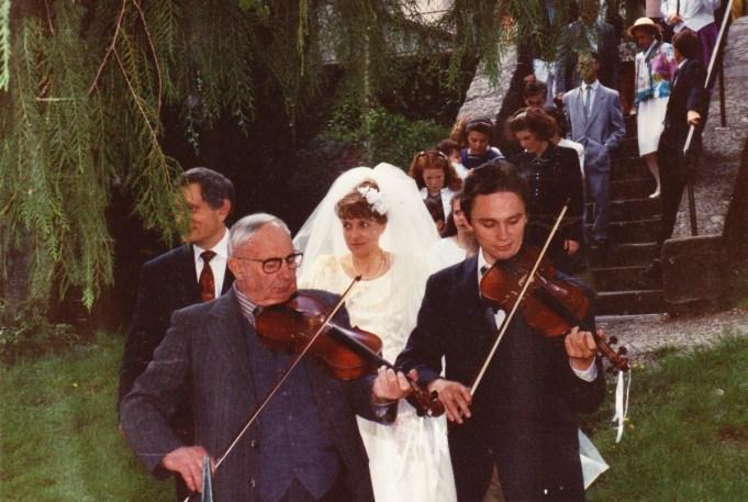 Noce de la Fille Jean Frebault - Eric Cousteix et Joseph Perrier - 1991