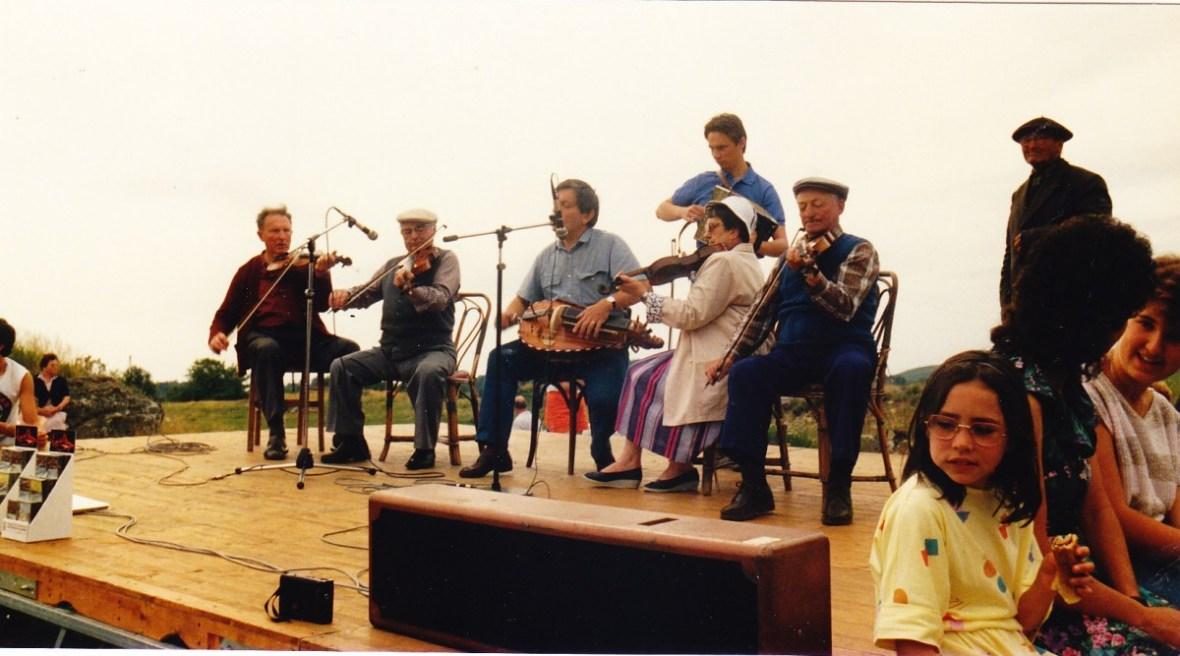 Fête à St Donat août 1987
