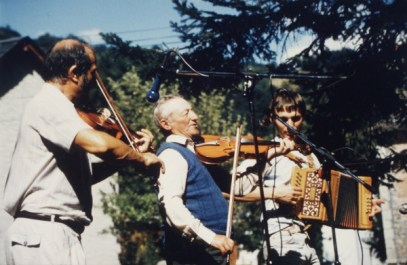 André Gatignol (violon), Eric Cousteix (accordéon)
