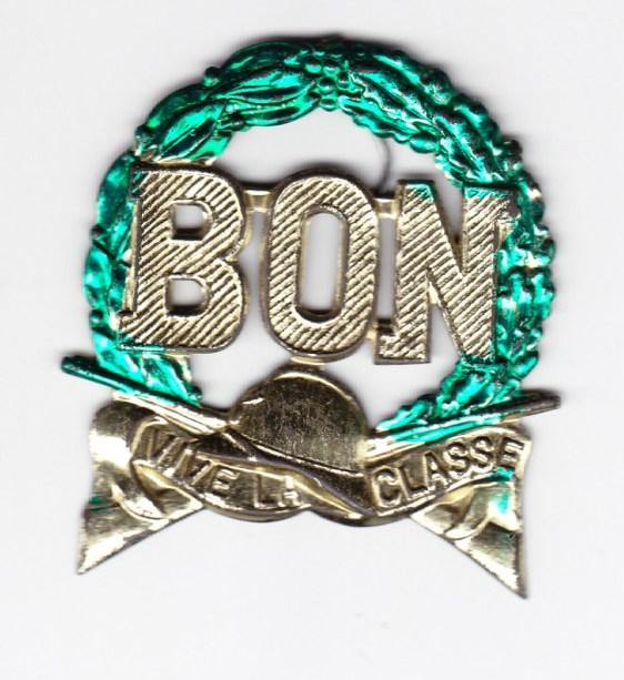 Médaille conscrit vive la classe