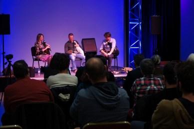 Sandrine Lagreulet, Cédric Bachellerie et Jacques Puech