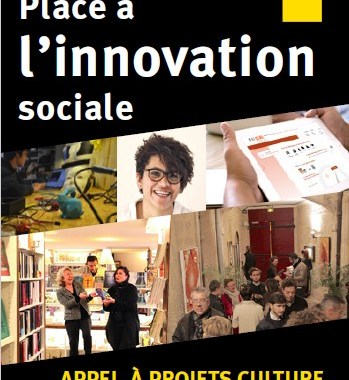 Appel à projets incubation : culture et innovation sociale