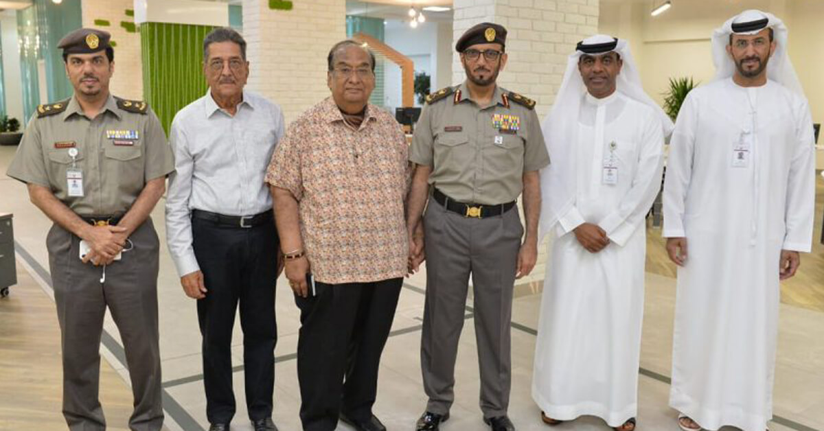 First 2 Indians who received 10-year Residency in Dubai-Laffaz
