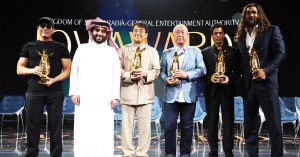 SRK, Jason Mamoa, Jackie Chan, Jean-Claude & Nobu chef garnish Saudi entertainment forum