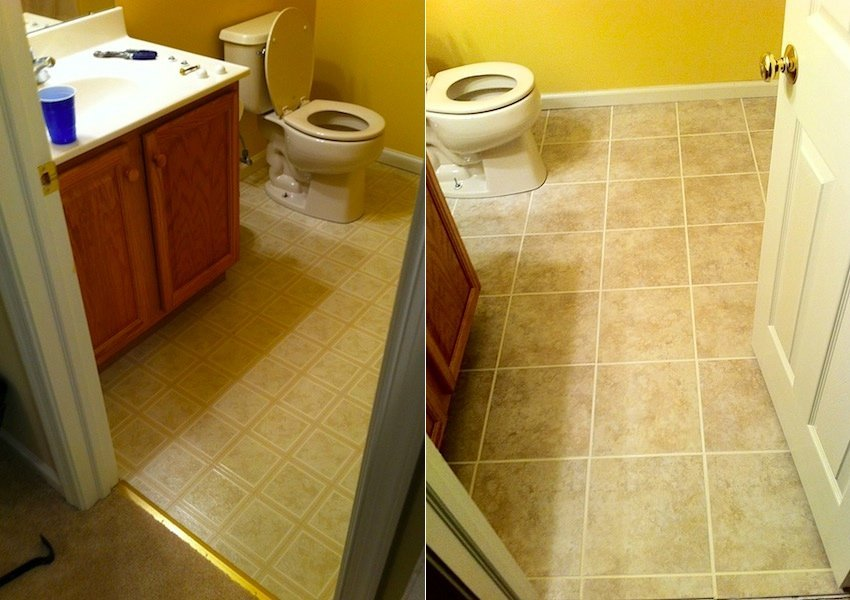 Bathroom Tile Installation In Collegeville Laffco Painting
