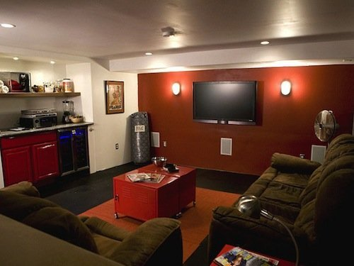 Ideal Man Cave Colors Laffco Painting