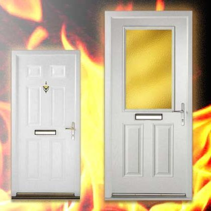 RESIDENTIAL FIRE DOORS COMPOSITE