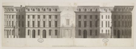 Jean-Michel Chevotet, Place des Victoires, Ecole nationale supérieure des beaux-arts