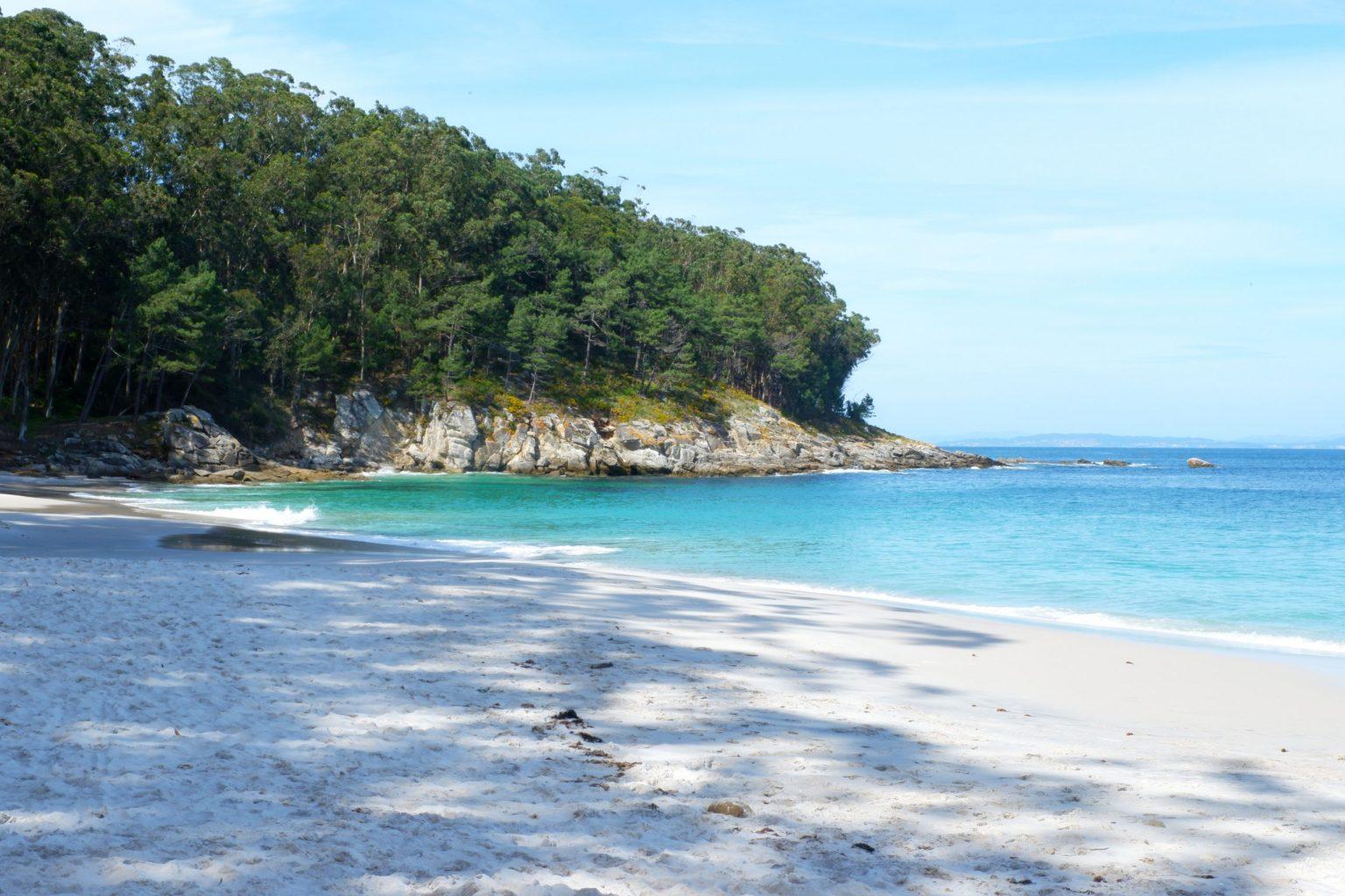 Les îles Cies en Galice
