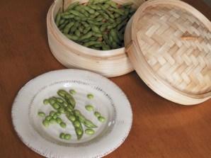 Fèves de soya (soybeans, edamame)
