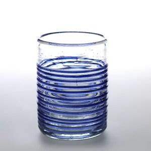 Vaso Lafiore Hilo Azul