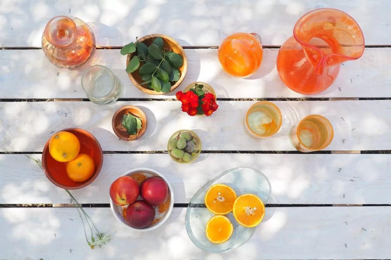 majorca glass table