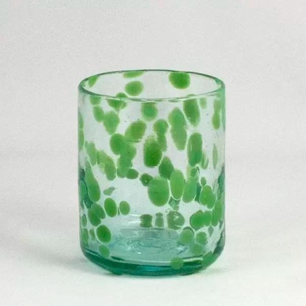 Vaso de Vidrio Mar Verde