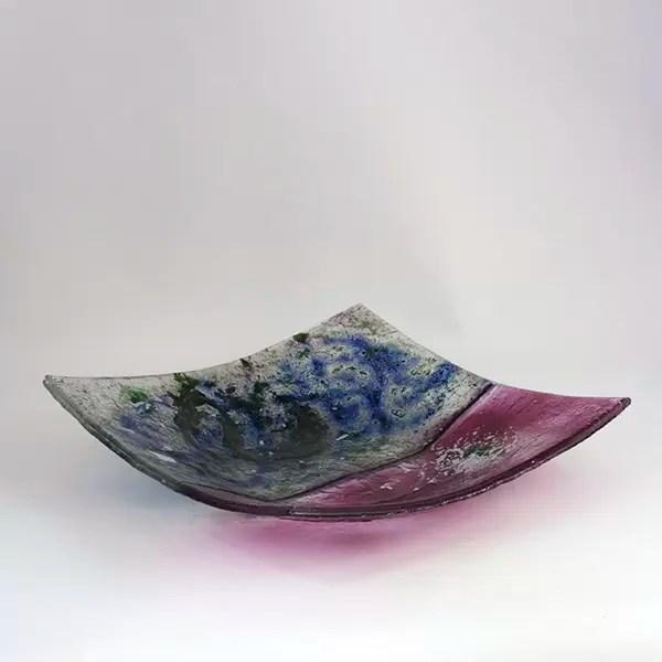 Decorative Plate Pink Rosa