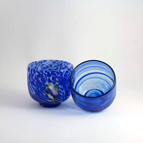 duo de cuencos mar azul mallorca
