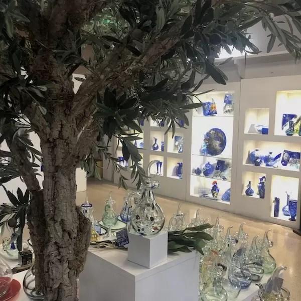 tienda de vidrio cristal mallorca lafiore - Öffnen wir Lafiore-Geschäfts