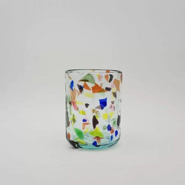 glass terrazzo yellow lafiore - Glass Terrazzo Y