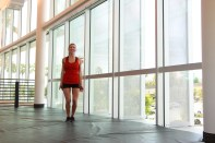 jumping jacks with Alyssa at LA fitness (1)
