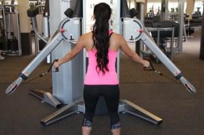 Nico Performing Row at LA Fitness