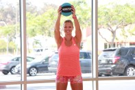 Danica performing figure eight at LA Fitness - 5