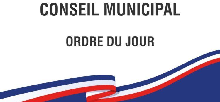 Avis de réunion du Conseil municipal
