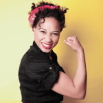 Rosie the riveter photo