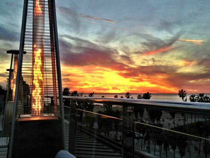 Best places for a Los Angeles Sunset