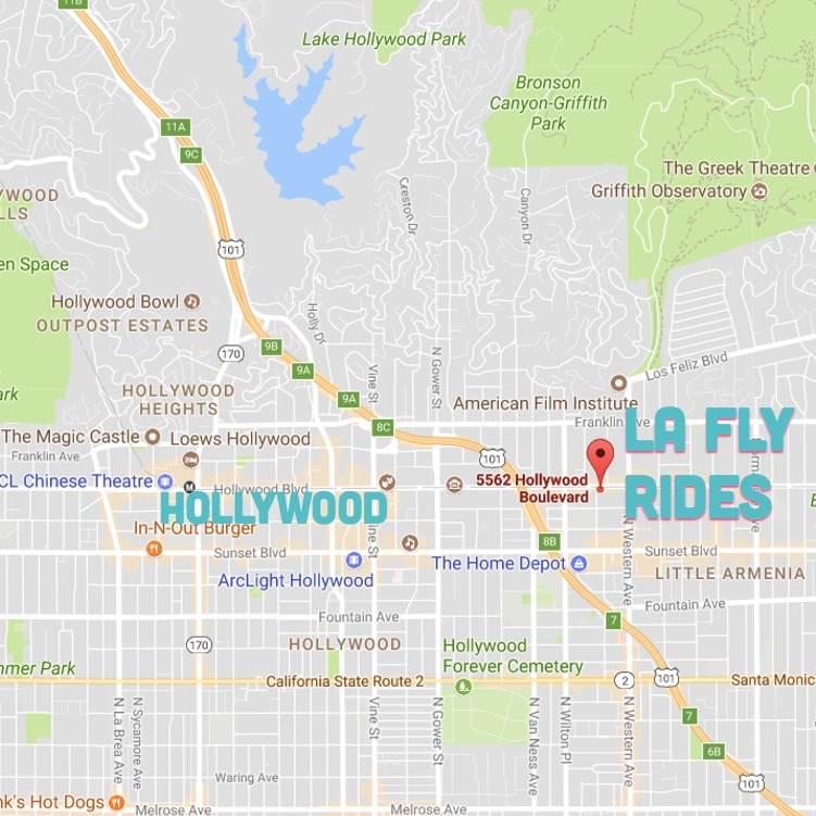 star map hollywood hills Top Celebrity Homes In Bel Air And Beverly Hills La Fly Rides
