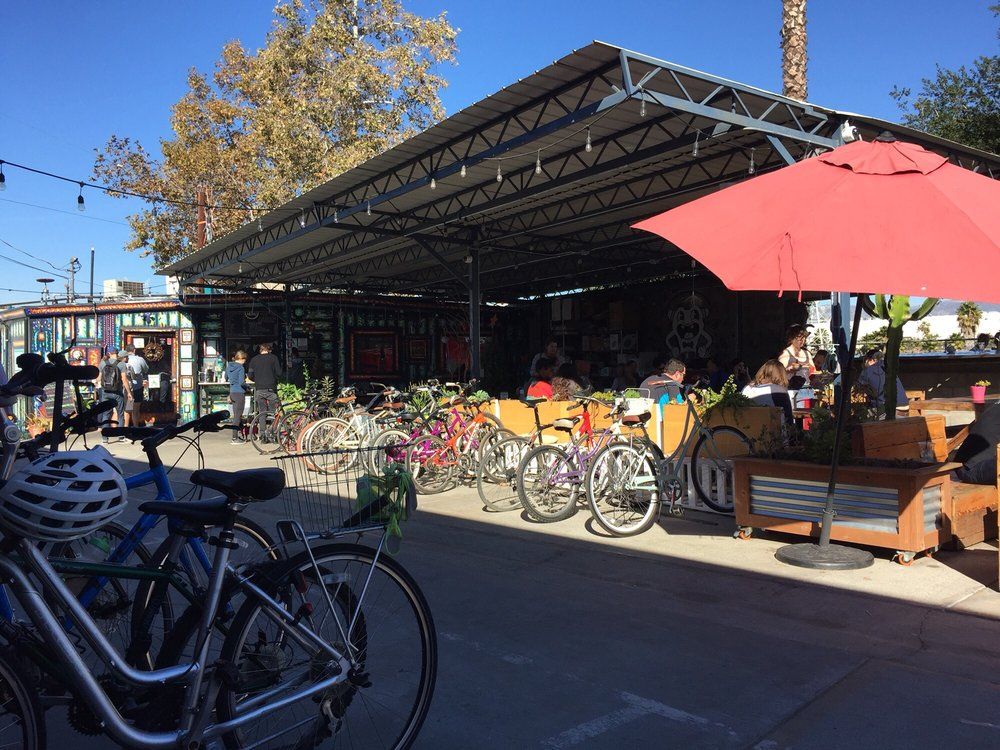 Best Cafes to Bike to in Los Angeles