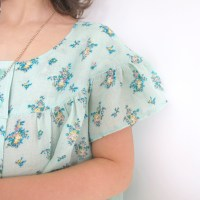 Sewing for summer . A Sunny Spot Top