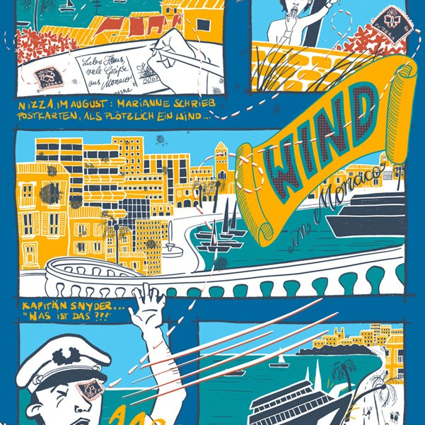 Wind in Monaco Graphic Novel