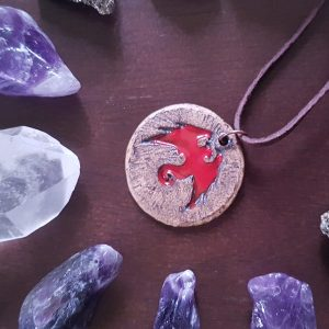 FIRE DRACONIS NECKLACE - 1