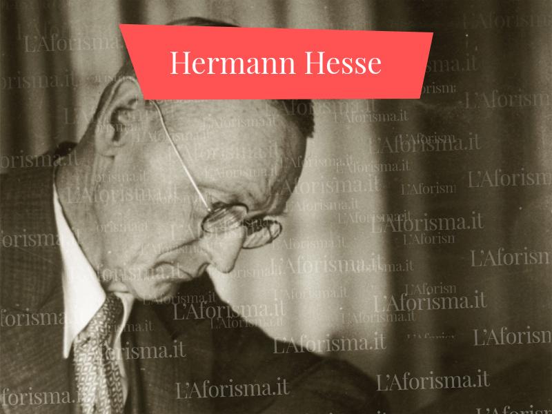 Frasi di Hermann Hesse