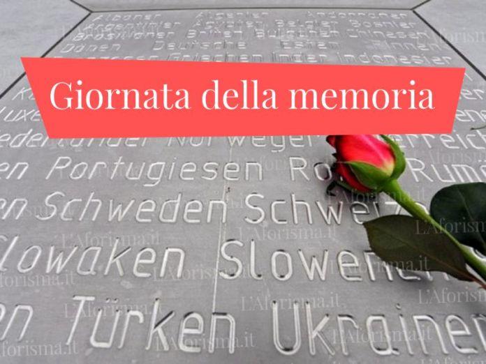 <strong>Frasi sulla Giornata della Memoria</strong> (27 Gennaio) – <em>Raccolta completa</em>