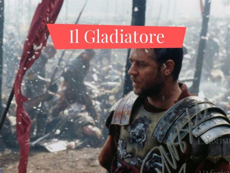 Le più belle <strong>frasi celebri del film Il Gladiatore</strong> – <em>Raccolta completa</em>