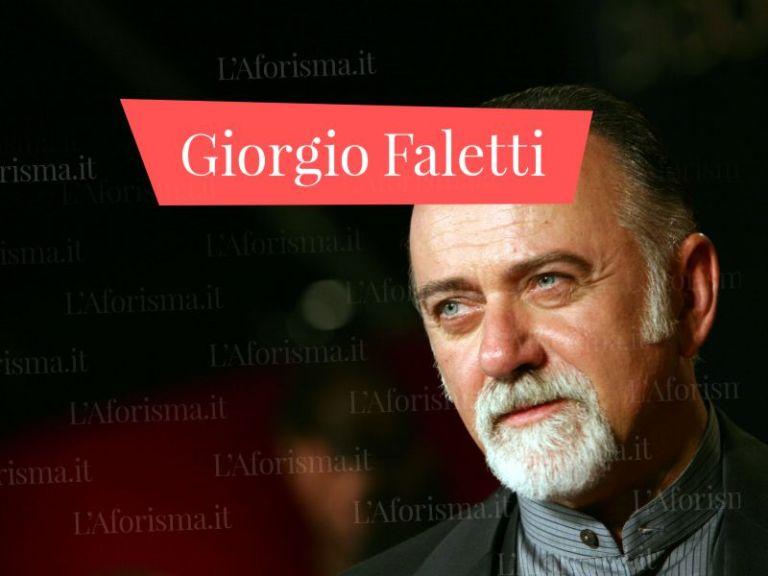 Le più belle <strong>frasi e citazioni di Giorgio Faletti</strong> – <em>Raccolta completa</em>
