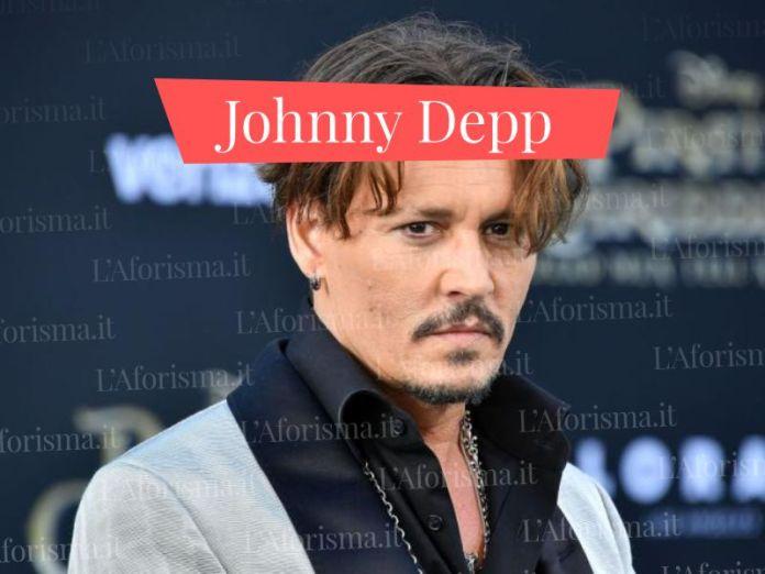 Le più belle frasi di Johnny Depp