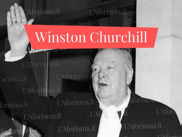 Le più belle <strong>citazioni e frasi di Winston Churchill</strong> – <em>Raccolta Completa</em>
