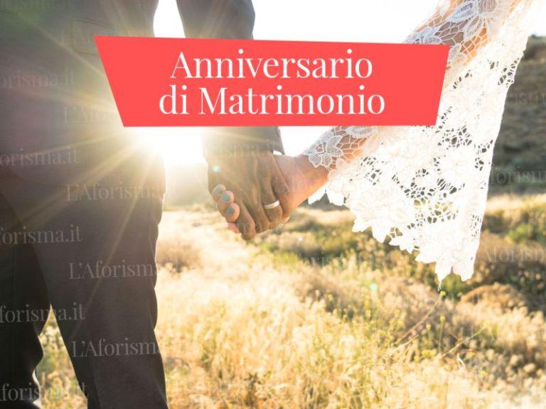 Le più belle <strong>frasi di auguri di Buon Anniversario di Matrimonio</strong>