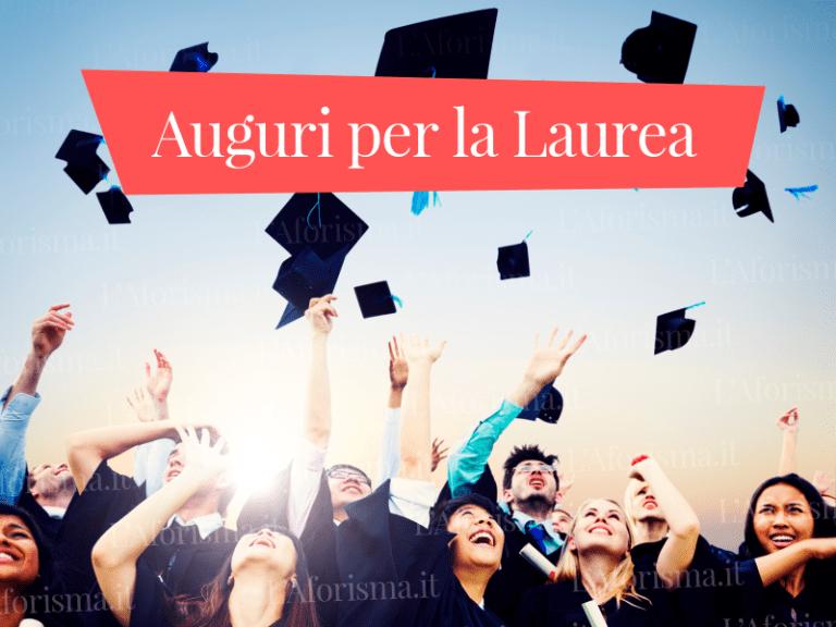 Le più belle <strong>frasi di auguri per la laurea</strong> – <em>Raccolta completa</em>