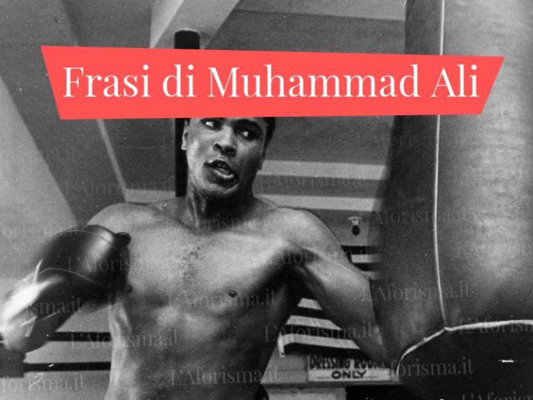 Le più belle <strong>frasi di Muhammad Ali</strong> – <em>Raccolta completa</em>