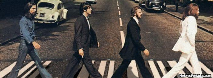 The Beatles en Abbey Road, fotografía famosa