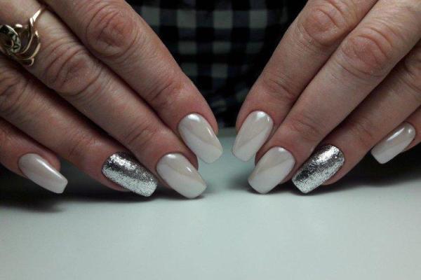 Маникюр на квадратные ногти 2021 (60 фото) - модные ...